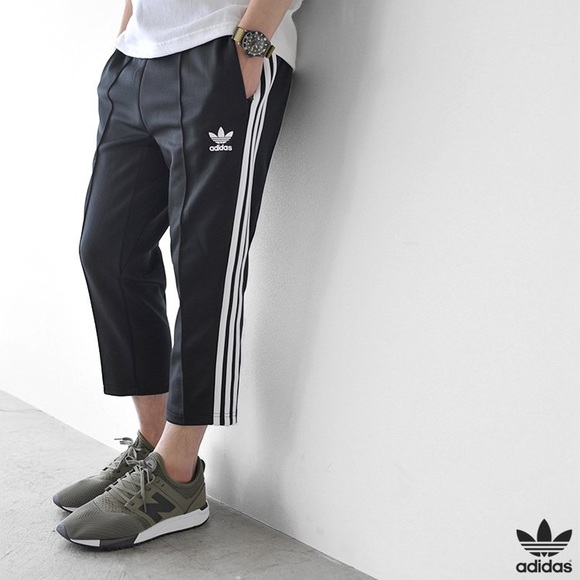 01692a8a445c Men s Adidas SST Relaxed Fit Crop Pant